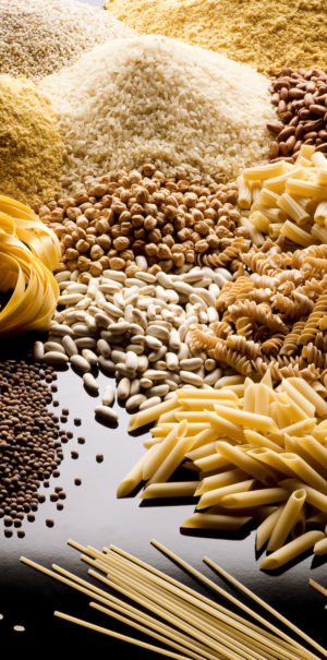Pasta, cereali e legumi